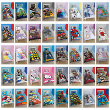 bambini Licenza Lenzuola Star Wars Lego Disney Hello Kitty MARVEL Mario