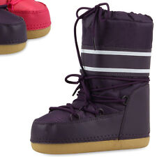 Warm Gefütterte Kinder Snowboots Winter Stiefel Modische Boots 79452 Top