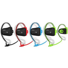 NFC Stereo Bluetooth Cuffie Impermeabile Sport Auricolare ALL Cellulare PC