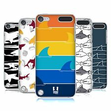 HEAD CASE DESIGNS SHARK PRINTS HARD BACK CASE FOR APPLE iPOD TOUCH 5G 6G