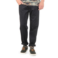 Carhartt WIP - Skill Pant 'Cortez' Twill, 8.75 oz Black Rinsed Hose  Relaxed Fit