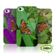 Peacock Butterfly Protective Snap on iPhone 4 Case / Cover