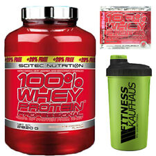 Scitec Nutrition Whey Protein Professional 2820g Eiweiss + Shaker + Probe (2350)