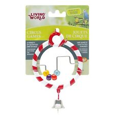Hagen Living World Bird Cage CIRCUS ABACUS Bird Toy Red or Blue/Purple