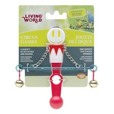 Hagen Living World Bird Cage CIRCUS BALANCE Bird Toy Red or Yellow/Red