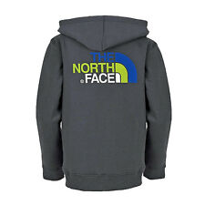 THE NORTH FACE KIDS DREW PEAK FZ HOODIE SWEATSHIRT JACKE / GRAPHITE GREY GR. 128