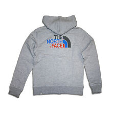 THE NORTH FACE KIDS DREW PEAK FZ HOODIE SWEATSHIRT JACKE / GRAU MELANGE