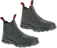 Redback Safety Dealer Chelsea Leather Steel Toe Cap Work Mens Ankle Boots UK6-12