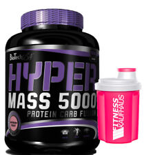 Biotech USA Hyper Mass 5000  5000g Bio Tech Weight Gainer + Ladyline Shaker