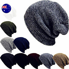 Men Women Unisex Warm winter Ski Beanies Skull Wrap Rasta Stripe Knit Hats Cap