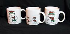Set 3 RARE 1986 Dayton-Hudson SANTA BEAR mugs NEW