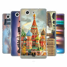HEAD CASE DESIGNS CITY SKYLINES HARD BACK CASE FOR SONY XPERIA A4