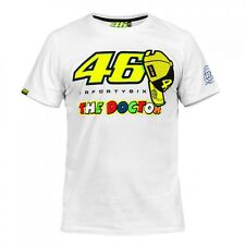 T-SHIRT MOTOGP 2016 VALENTINO ROSSI 46 THE DOCTOR WHITE MAN
