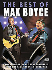 MAX BOYCE - THE BEST OF MAX BOYCE NEW DVD