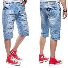 CIPO & BAXX Herren Jeans Shorts CK116 light blue