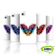 Butterfly Splatter Case For Apple iPhone 4 Butterfly Protective Phone Cover