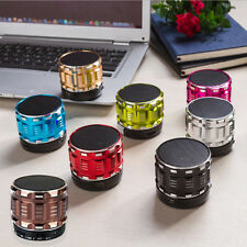 Mini Portatile LED Senza fili Stereo Bluetooth Basso Speaker TF per iPhone PC EW