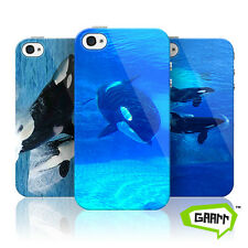 Killer Whale Case For Apple iPhone 4 Orca Animal Hard Shell Protective Cover