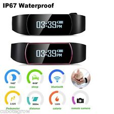 OLED Touch Bluetooth Bracciale Orologio Smart Contapassi Fitness Tracker