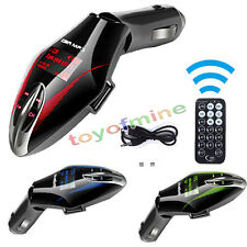 New Wireless Car Kit MP3 Player FM Transmitter Modulator Remote USB/SD Bluetooth