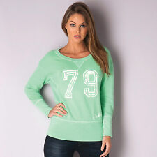 Womens Franklin And Marshall Crew Sweatshirt In Green From Get The Label