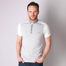 Mens Bewley And Ritch Roscoe Polo Shirt In White From Get The Label