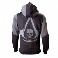 Assassins Creed IV Black Flag Hooded Sweater Logo Size L