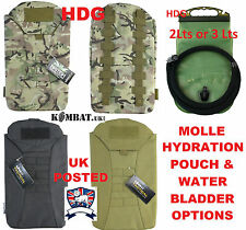 MOLLE ARMY WATER HYDRATION POUCH no Bladder Bottle MULTICAMO BTP MTP