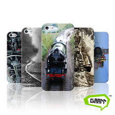 Steam Engine Case For iPhone SE Steam Locomotive Train Protective Phone Cover