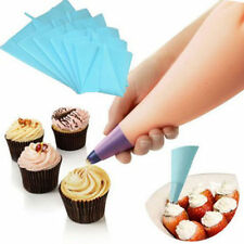 NEW Silicone Reusable Icing Piping Cream Pastry Bag Cake Decorating Tool DIY