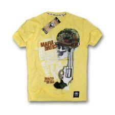 Mafia and Crime T-Shirt - MAFIA Guerra - giallo