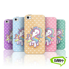 Majestic Unicorn on Hearts Case For Apple iPhone 4 Fairy Tale Protective Cover