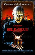 Poster / Leinwandbild Hellraiser 3 - Hell in Earth