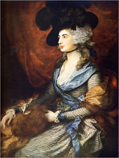 Poster / Leinwandbild Mrs. Sarah Siddons - Thomas Gainsborough