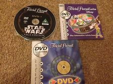 Trivial Pursuit DVD Only Spares Authentic Replacement Trivia Disc New
