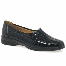Gabor Alice Womens Leather Wide Fit Shoes