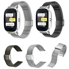 New Milanese Stainless Steel Quick Release Watch Band Strap for ASUS ZenWatch 2