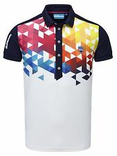 Bunker Mentality Cmax Geo Golf Sport Polo Shirt top Quality Golf Apparel from UK