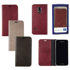 AnyMode Diary Flip Case Book Folio Cover For Samsung Galaxy S5 Mini