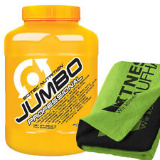 Scitec Nutrition Jumbo Professional 3240g Weight Gainer + Handtuch