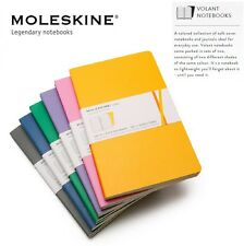 Moleskine Volant Notebooks Set Of 2 Ruled Plain Note Sketch Book Writing Journal