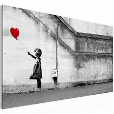 CANVAS PICTURE Picture 3016137_40 BANKSY ART PRINT DIGITAL ART BLACK WHITE 1tlg