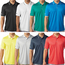 Adidas Golf Mens ClimaCool Tipped Club Performance Golf Polo Shirt