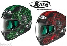 casco helmet casque helm nolan x lite x 802 x802 start white tg m ebay. Black Bedroom Furniture Sets. Home Design Ideas