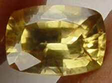 1.95CT Gorgeous Yellow Fire Earth Mined Zircon Loose Gemstone  08071765S
