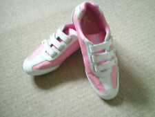 PINK&WHITE PLAYBOY TRAINERS SZ 6 WORN TWICE