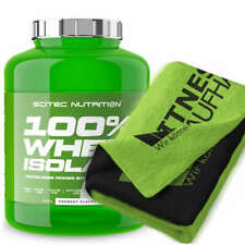 Scitec Nutrition 100% Whey Isolate 2000g Eiweiss + Handtuch
