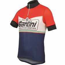 Santini Wool Heritage 2.0 Short Sleeve Cycling Jersey