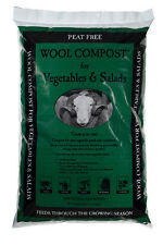 Dalefoot Wool Compost for Vegetables and Salads Peat Free 30 litres