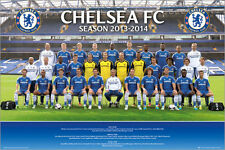 Poster Chelsea - Team Photo 13/14